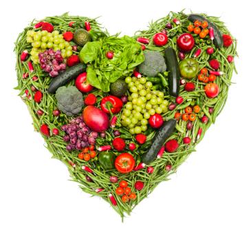 I love vegetables and fruit