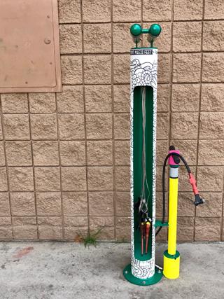 Boise Bike Maintenance Station