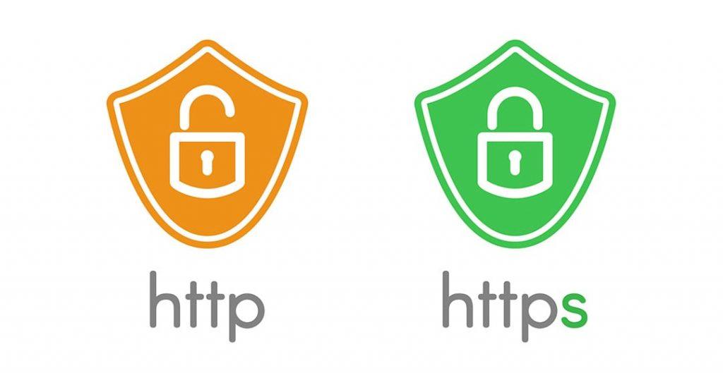 HTTP vs HTTPs image